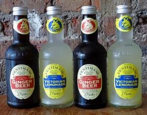 Ginger Beer and Victorian Lemonade