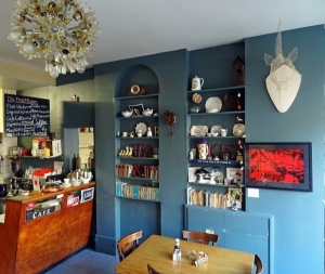 The Front Room Cafe Interiors