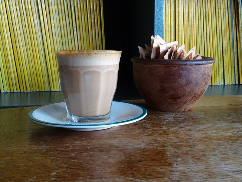 allpress coffee served at the front room cafe