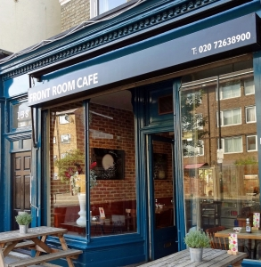 stroud green restaurants, the front room cafe