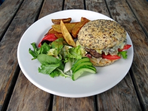 Gourmet Burger Image